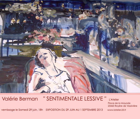 Sentimentale Lessive . Exposition 2013